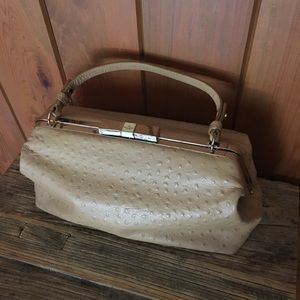 Kate Spade Ostrich leather bag
